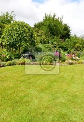 Bild Blühender, Schöner Garten