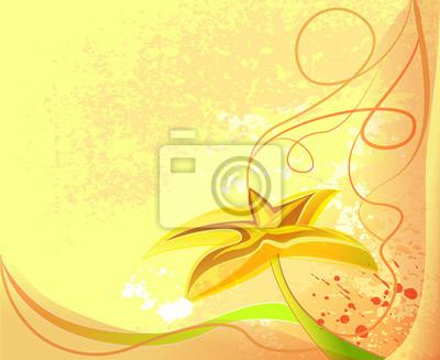 Blume Hintergrund
