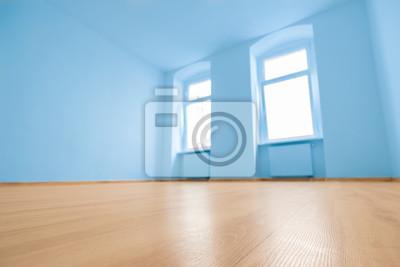 Boden Nahaufnahme In Leeren Raum In Neue Wohnung Leinwandbilder