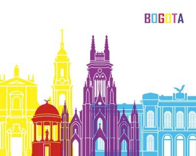 Bild Bogota Skyline Pop
