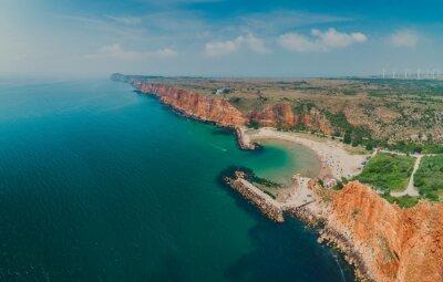 Bolata beach Bulgaria. Exotic bay near Cape Kaliakra and Albena, Varna province