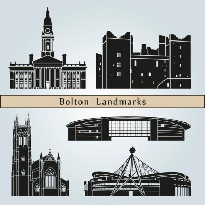 Bild Bolton landmarks and monuments