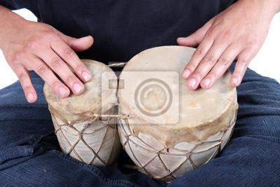 Bongo Trommeln Hände