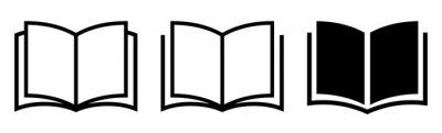 Bild Book icon set. Simple book symbol. Vector