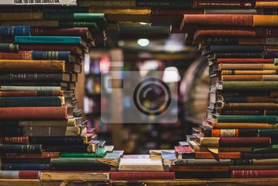 Bild books in the library