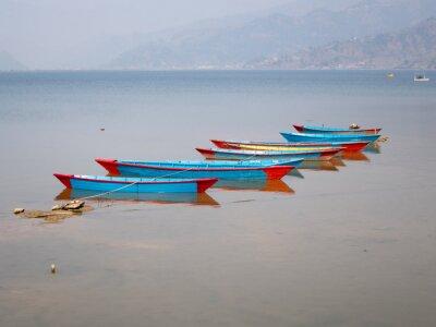 Bild Boote auf dem See Fewa