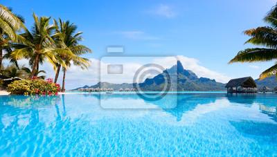 Bild Bora Bora Landschaft