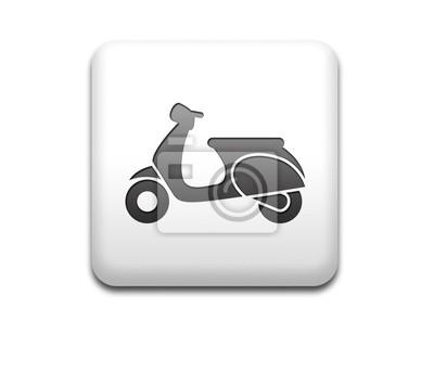 Boton cuadrado blanco Roller