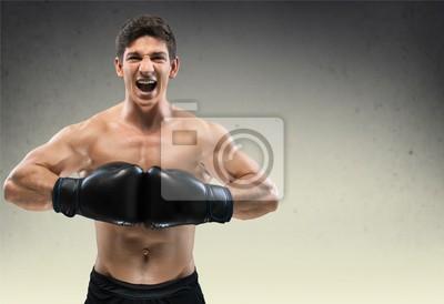 Boxen, Netz, Bodybuilding.
