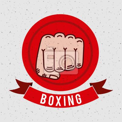 Boxsport-Sportentwurf