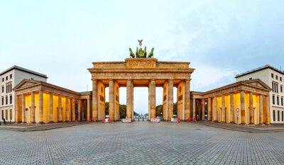 Bild Brandenburger Tor Panorama in Berlin, Deutschland