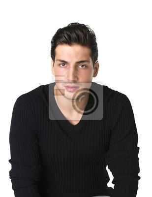 Braune männlich augen haare schwarze Hübsche Schauspielerin