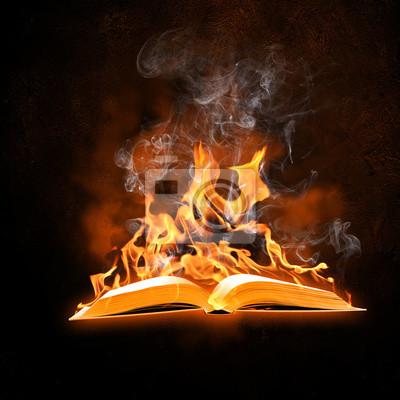 Brennende Buch