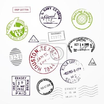 Briefmarken USA Passport