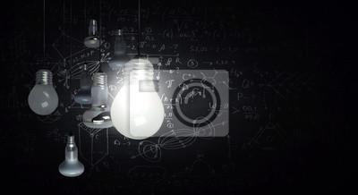 Bild Bright idea in darkness