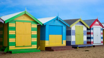 Bild Brighton Strandkästen, Melbourne, Australien