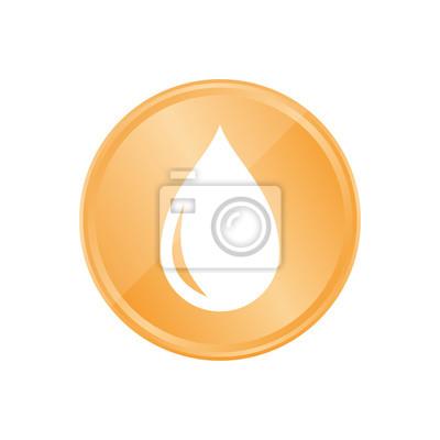 Bronze Münze Tropfen Leinwandbilder Bilder Blutspende