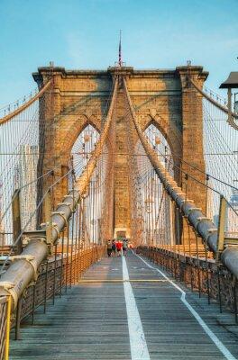 Bild Brooklyn-Brücke in New York City