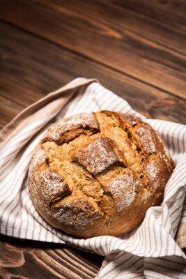 Bild Brot Sortiment auf Holzoberfläche