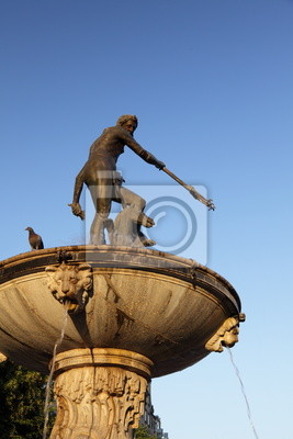 Bild Brunnen Neptun, Danzing, Gdansk, Poland