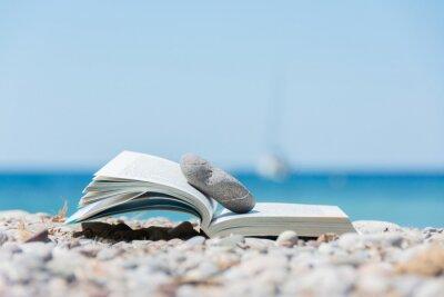 Bild Buch am Strand