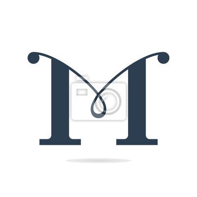 Letter M Logo Icon Vector Design Template