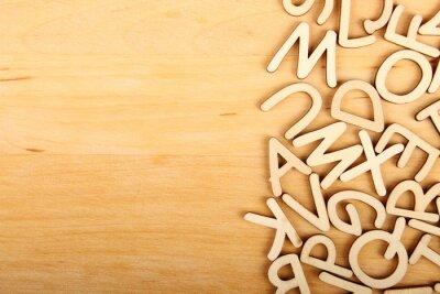 Bild Buchstaben und Zahlen