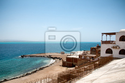 Bild Buildings on Coastline of Red Sea in Hurghada