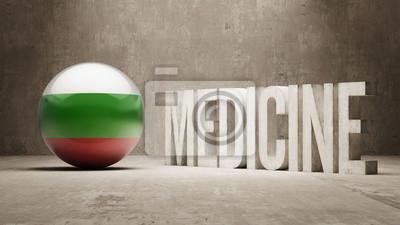 Bulgarien. Medizin-Konzept.