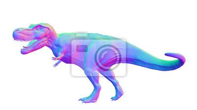 Bild Bunt Tyrannosaurus Rex Anatomisch Korrekter T Rex Dinosaurier