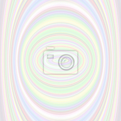 Bunte abstrakte Ellipse Hintergrund - Vektor-Grafik aus konzentrischen Ellipsen in hellen Tönen