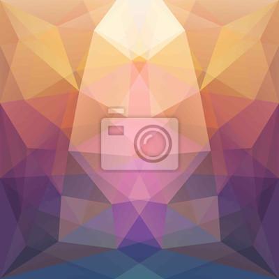 Bunte abstrakte Hintergrund Symmetrie