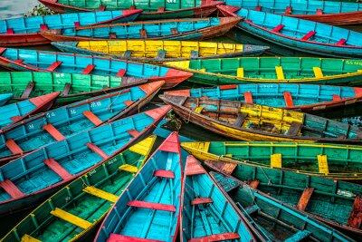 Bild Bunte Boote