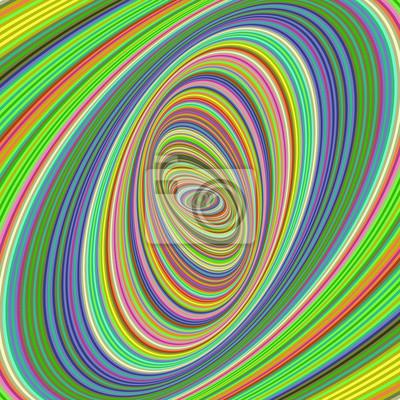 Bunte Ellipse Fractal Design Hintergrund
