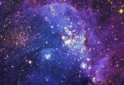 Bild Bunte fraktale Farbe, Lichter auf das Thema der Kunst, abstrakt, Kreativität. Planet und Galaxie in einem freien Raum. Elemente dieses Bildes von der NASA eingerichtet.