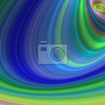 Bunte gebogenen Streifen Hintergrund