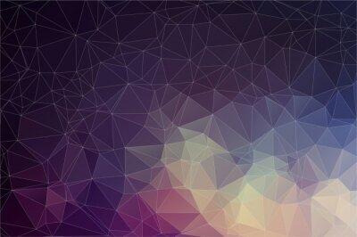 Bild Bunte geometrische Hintergrund mit Dreiecken
