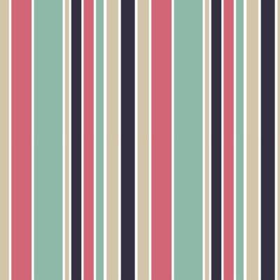 Bild Bunte vertikale Streifen nahtlose Vektor-Muster Hintergrund Illustration