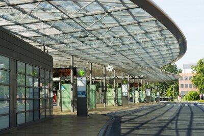 Bild Busbahnhof in Herne, nrw, Deutschland