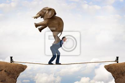 Bild Business-Herausforderung Konzept