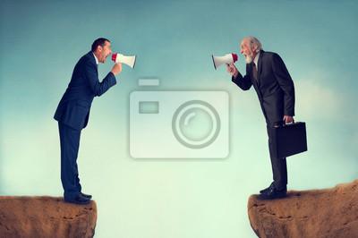 Bild Business-Konflikt