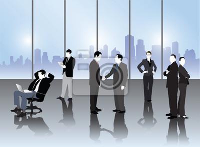 Business-Leute-Vektor