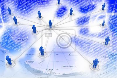 Bild Business-Netzwerk
