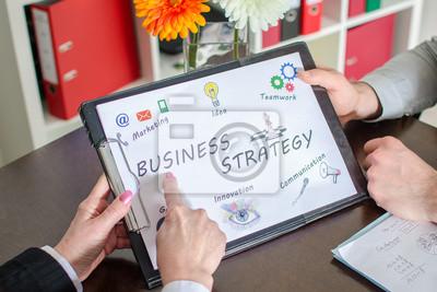 Bild Business strategy concept