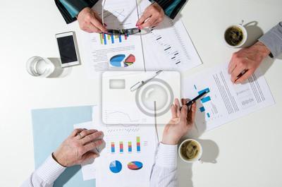 Bild Business Team bei einem Treffen