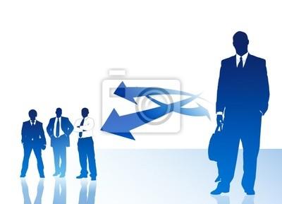 Bild Business Team - Delegation