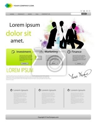 Business-Template Website
