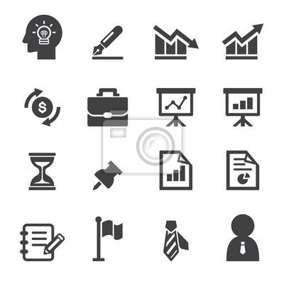 Business Und Buro Icon Leinwandbilder Bilder Stundenglas