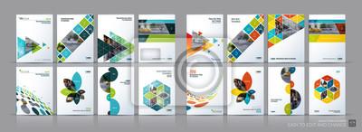 Bild Business-Vektor-Mega-Set. Broschüre Vorlagen-Layout, Cover-Design