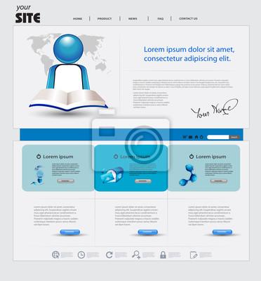 Business-Website-Vorlage